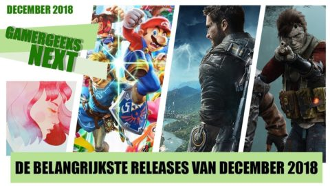 Game releases december 2018 – Super Smash Bros. Ultimate, Just Cause 4 en Gear.Club Unlimited 2