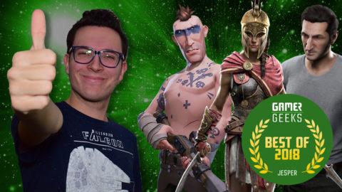 De Beste Games van 2018 volgens Jesper!