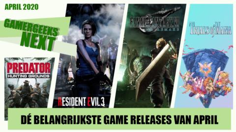 April 2020 – Dé belangrijkste game releases – GamerGeeks Next