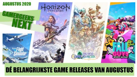 Augustus 2020 – Dé belangrijkste game releases – GamerGeeks Next