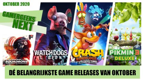 Oktober 2020 – Dé belangrijkste game releases – GamerGeeks Next