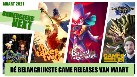 Maart 2021 – Dé belangrijkste game releases – GamerGeeks Next
