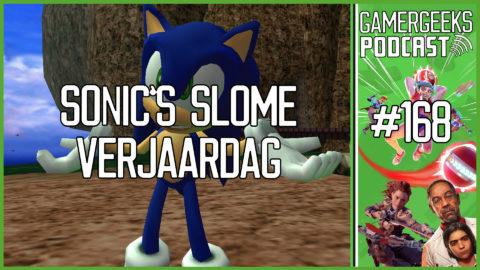 GamerGeeks Podcast #168 – Sonic's Slome Verjaardag